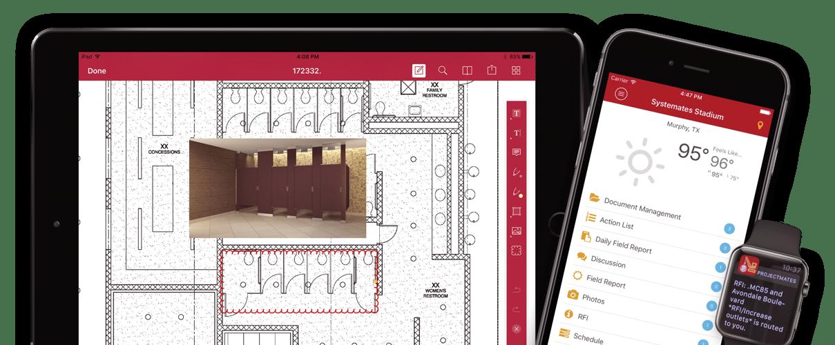 Projectmates Construction Project Management Mobile App